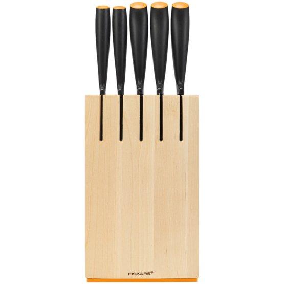 Ceppo 5 coltelli, legno