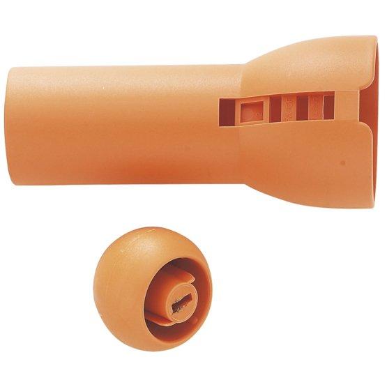 Impugnatura e pomello arancione art. 115560