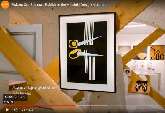 La mostra Our Scissors presso l'Helsinki Design Museum VIDEO