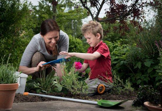Il giardinaggio può essere un gioco da ragazzi