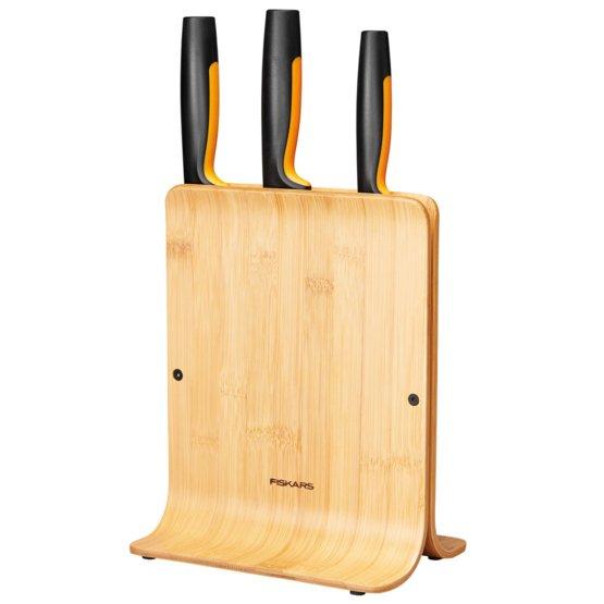 Ceppo in bambù con 3 coltelli Functional Form