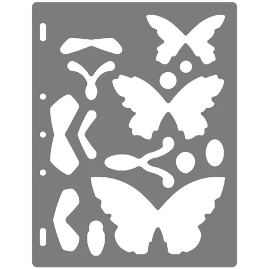 Grandi ShapeTemplates™- Butterfly