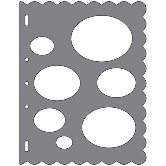 Grandi ShapeTemplates™- Ovals