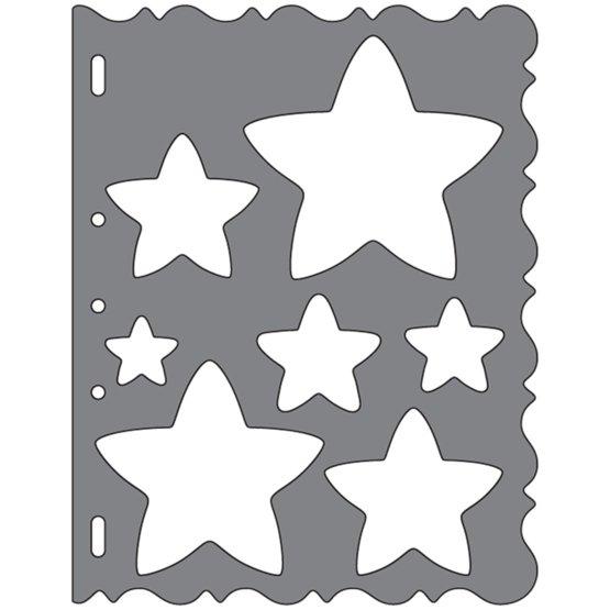 Grandi ShapeTemplates™- Stars