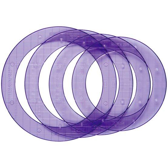 Grandi ShapeTemplates™- Cerchi