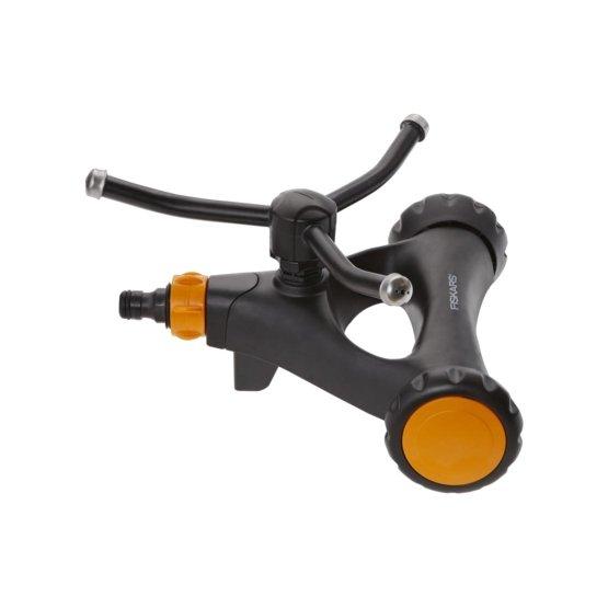 Irrigatore rotante S, di metallo con ruote