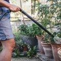 Pistola per irrigazione con prolunga con flusso regolabile Comfort