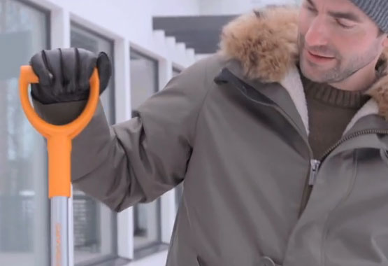 Spazzola e raschietto SnowXpert